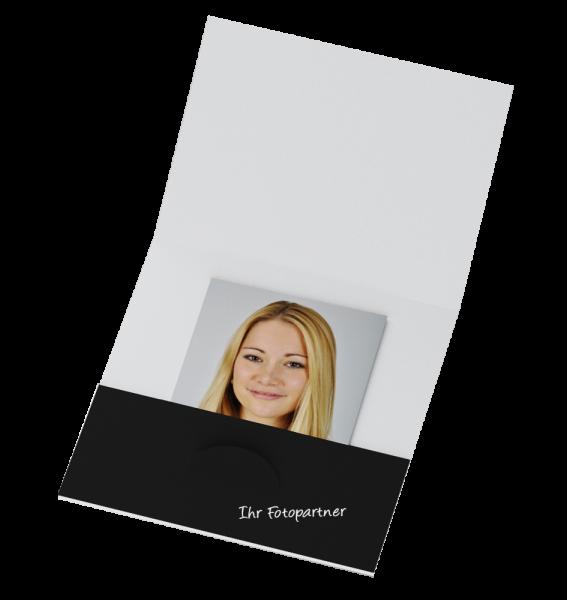 Passbildmappe Bilder bis 7x7cm Offsetdruck