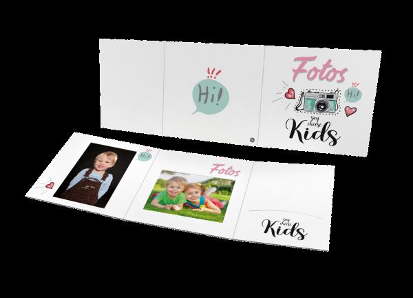 Schul- und Kindergartenmappe - Motiv Hi