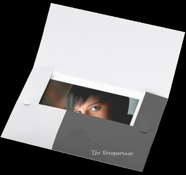 Abgabemappe - eigene Gestaltung Offsetdruck