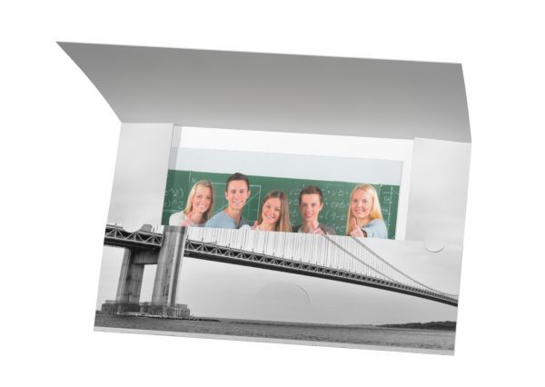 Abgabemappe - Motiv Brücke