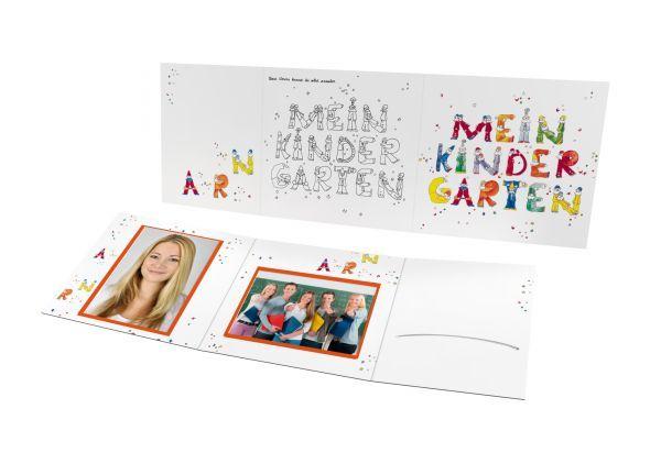 Schul- und Kindergartenmappe - Motiv Kindergarten
