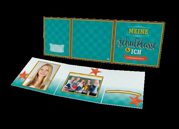 Schul- und Kindergartenmappe - Motiv Schulklasse
