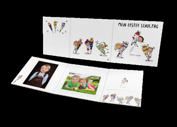 Schul- und Kindergartenmappe - Motiv Mein Schulstart