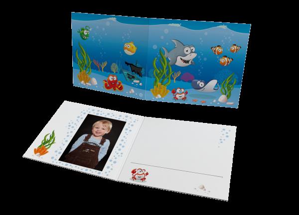 Schul- und Kindergartenmappe - Motiv Ozean