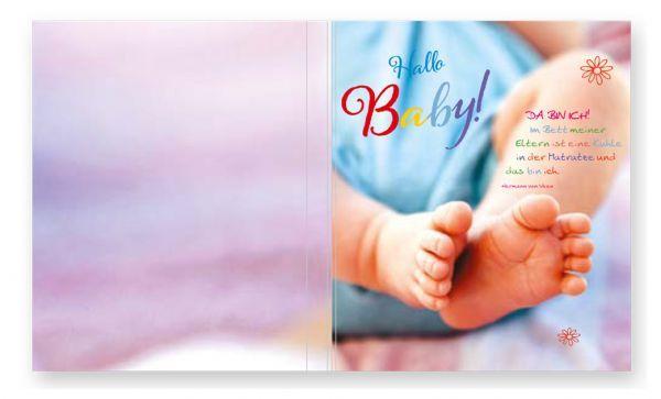 Softcover für Passepartoutblock Motiv: Baby