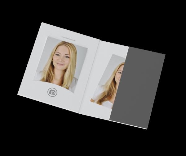 Portraitmappe für Bilder bis 6x9cm Offset