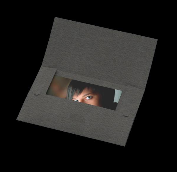 Portraitmappe (3 Klappen) für Bilder bis 15x20cm Lagerware