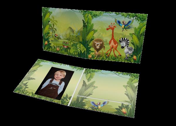 Schul- und Kindergartenmappe - Motiv Dschungel