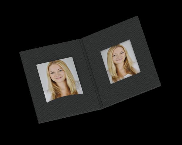 Passbildmappe klein für 35x45mm Bilder Lagerware