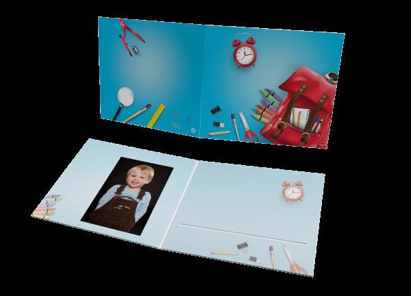 Schul- und Kindergartenmappe - Motiv Schule
