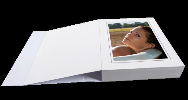 Passepartoutblock für 15x20cm Bilder einseitig Lagerware