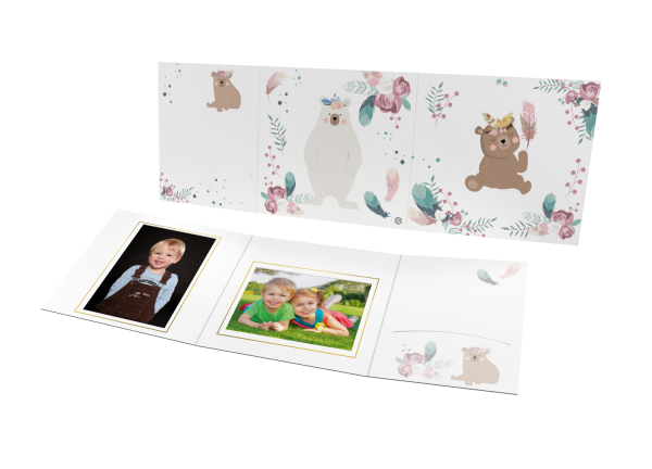 Schul- und Kindergartenmappe - Motiv Bär
