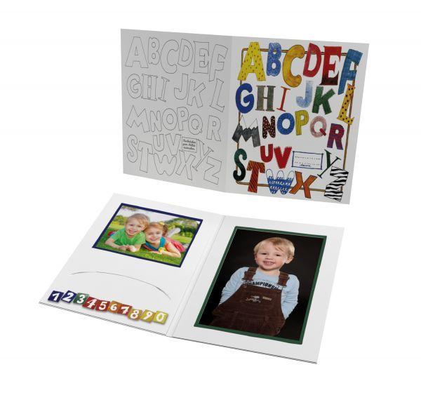 Schul- und Kindergartenmappe - Motiv ABC