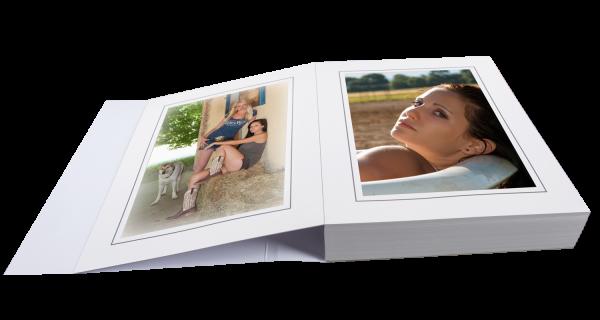 Passepartoutblock für 15x20cm Bilder zweiseitig Lagerware