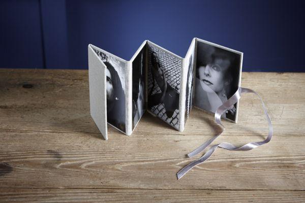 Zick-Zack Album, Leinen, 9x13, Peel&Stick, für 10 Bilder, Farben: Oatmeal oder Storm