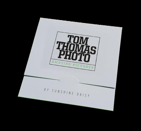 Bewerbungsbildmappe Bilder bis 9x9cm Farbschnitt