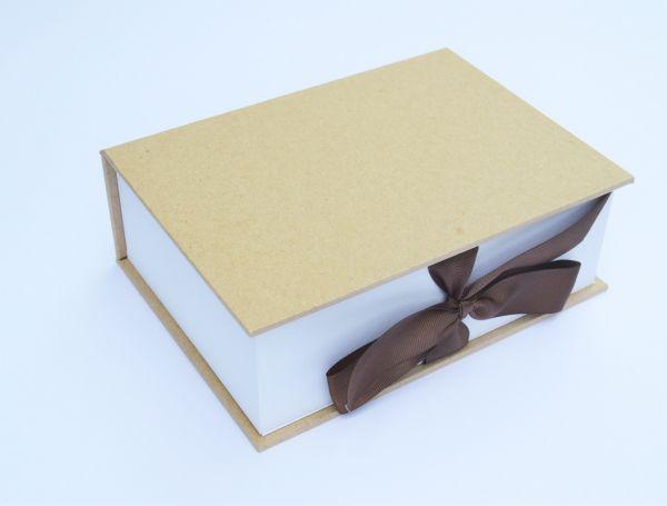 Print Box aus Kraftpapier
