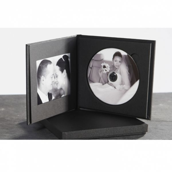 DVD Case Classica mit Passepartout, Sumeria Black
