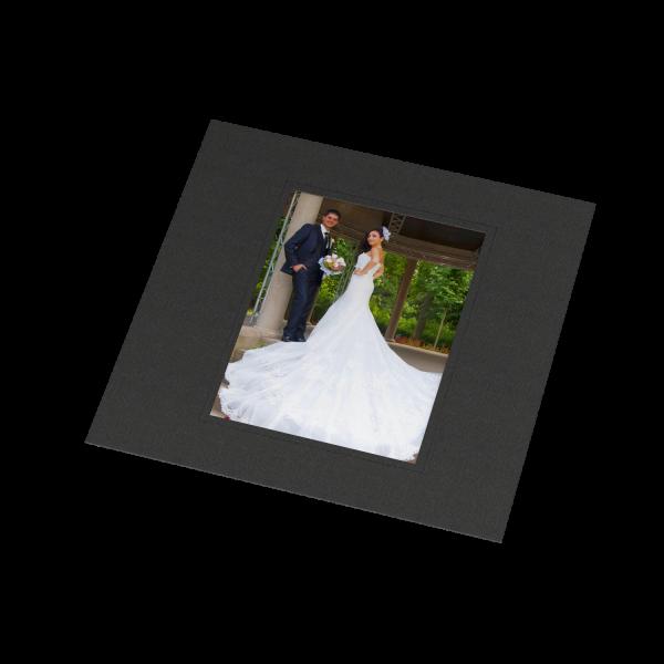 Albenmaske klein - Blindprägung für 13 x 18 cm Bilder