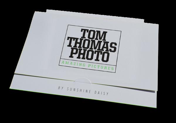 Portraitmappe CD und für Bilder bis 10x15cm Farbschnitt