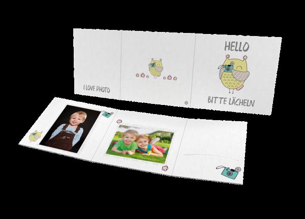 Schul- und Kindergartenmappe - Motiv Hello