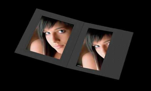 Portraitmappe für 15x20cm Bilder Lagerware