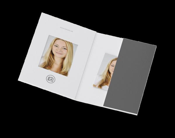Passbildmappe für 35x45mm Bilder Offsetdruck