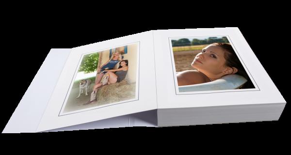 Passepartoutblock für 13x18cm Bilder zweiseitig Lagerware