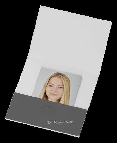 Bewerbungsbildmappe Bilder bis 9x9cm Offsetdruck