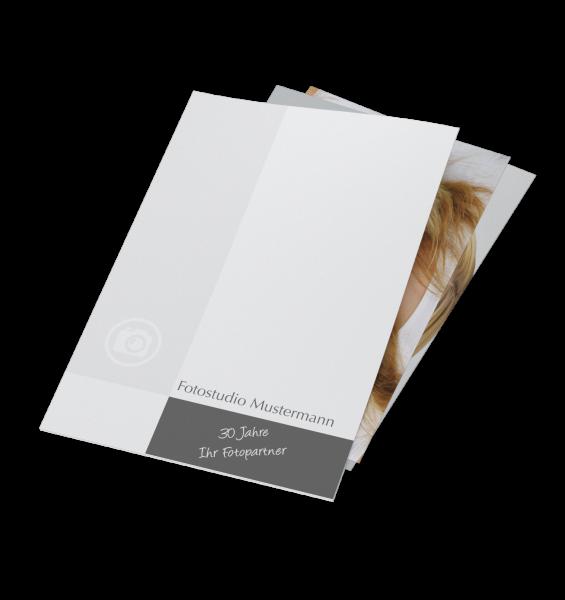 Einsteckmappe für Bilder bis 20x30cm Offsetdruck