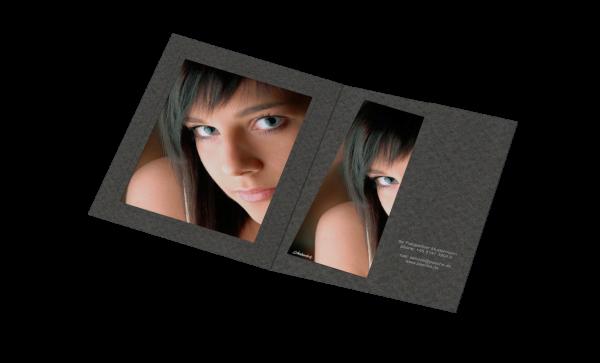 Portraitmappe für 13x18cm Bilder Folienprägung