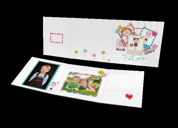 Schul- und Kindergartenmappe - Motiv Kids