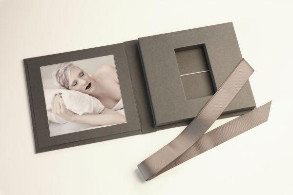 USB Case Paper-Bonded, mit Passepartout