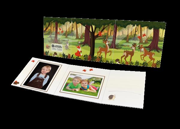 Schul- und Kindergartenmappe - Motiv Wald